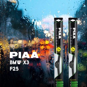 PIAA WIPERS FOR BMW X3 F25