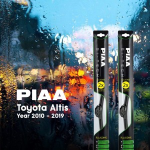 PIAA SI-TECH Wipers (Front Set) Toyota Altis