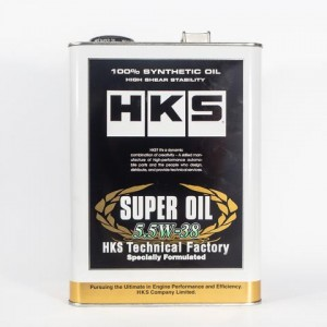 HKS TECHNICAL FACTORY SERIES ENGINE OIL - SUPER OIL 5.5W38 (4L)