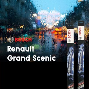 Bosch Aerotwin Plus Wipers for Renault Grand Scenic