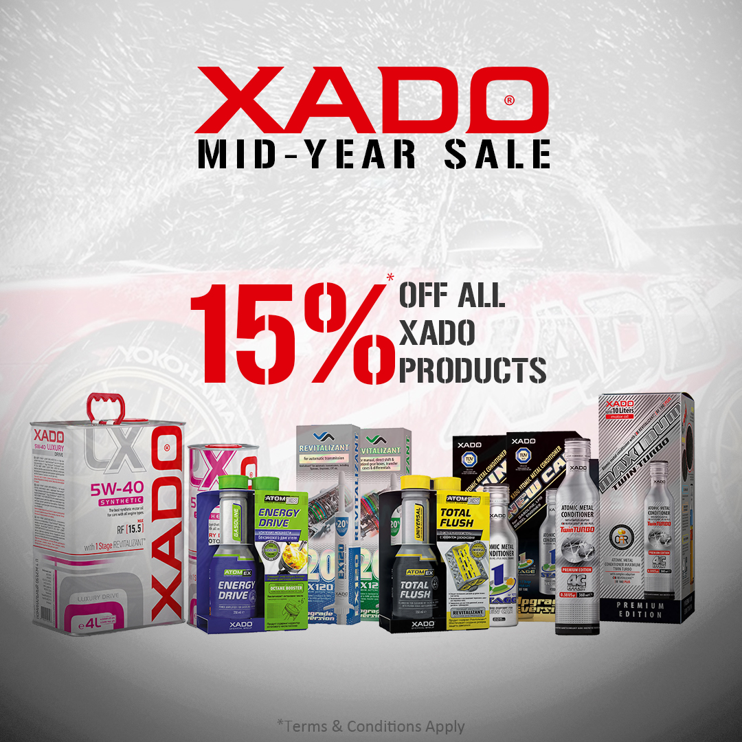 XADO MID YEAR SALE