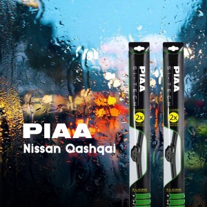 PIAA SI-TECH Wipers (Front Set) Nissan Qashqai