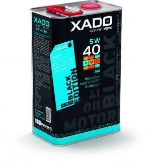 XADO Luxury Drive AMC 'Black Edition' 5W40 Engine Oil