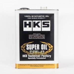 HKS TECHNICAL FACTORY SERIES ENGINE OIL - SUPER OIL 7.5W42 (4L)